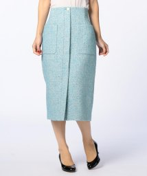 NOLLEY'S/カラーネップポケットスカート/500635584