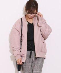 and Me.../中綿入り MA-1 レディース アウター ブルゾン キルティング オーバーサイズ/500644592