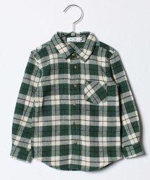 koe kids/ベーシックチェックネルシャツ/500624574