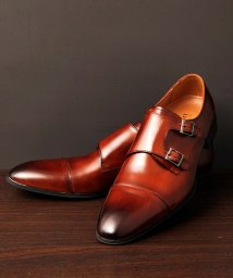 GUIONNET/GUIONNET DOUBLE MONK STRAP BS204 ドレスシューズ BS204 メンズ/500633308