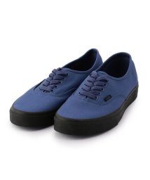 SHIPS JET BLUE/VANS: AUTHENTIC BLACK SOLE/500646963