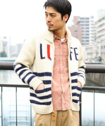 URBAN RESEARCH Sonny Label/CANADIAN SWEATER 別注LIFE STRIPE SWEATER/500647108
