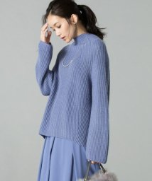 JIYU-KU(LARGE SIZE)/【洗える】パターンリブステッチ ニット/500647176