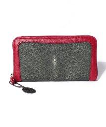 gino marina luxe/スティングレーラウンド財布/500636832