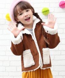 ROPE' PICNIC KIDS/【ROPE' PICNIC KIDS】フェイクムートンコート/500645407