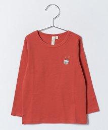 LAGOM/スムース刺繍カットソー/500633964