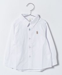 LAGOM/オックスワンポイント刺繍シャツ/500633971