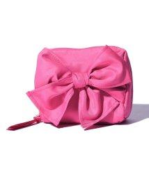 pink trick/ラップリボンミニスクエアポーチ/500635059