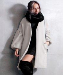 ANAP/ファースヌード+ボリューム袖コート SET/500639730