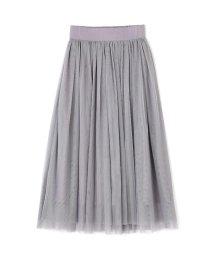 PROPORTION BODY DRESSING/《BLANCHIC》チュールマキシスカート/500651179