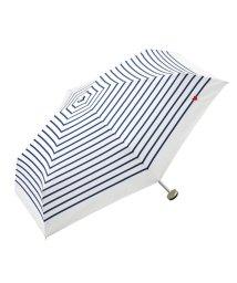 haco!/w.p.c ハート刺繍ボーダーmini umbrella/500650700