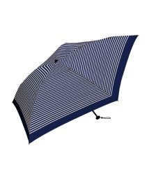 haco!/KiU エアライトラージアンブレラ130gボーダー umbrella/500650704