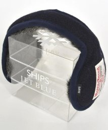 SHIPS JET BLUE/SHIPS JET BLUE: HARRIS TWEED イヤーマフ/500653280