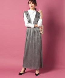 beautiful people/metallic jerseypleats dress/500638599