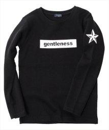 GLAZOS/ダブルフェイス・ボックスモチーフ長袖Tシャツ/500650843