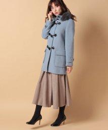 Piccola Donna/【Minskatt】モッサファー付ダッフル/500648177