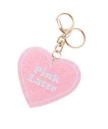 PINK-latte/きらきらハートバックチャーム/500653922