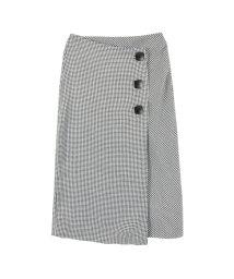 titivate/ビッグボタンラップタイトスカート/500653929