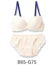 fran de lingerie/Nudy Basic -fill- ヌーディーベーシックフィル ブラ&ショーツセット B65-G75カップ/500654414