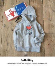 coen/Keith Haring(キースヘリング)プルオーバーパーカー/500647420