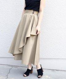 Khaju/《予約》Dickies×Khaju:別注ドレープスカート/500654557