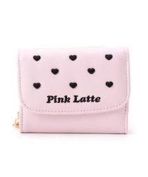 PINK-latte/ハートフロートミニ財布/500655417