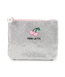 PINK-latte/ワンポイントグリッターティッシュポーチ/500655419