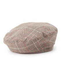 PINK-latte/チェックベレー帽/500656630