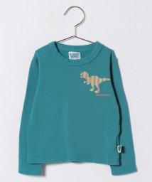 RUGGEDWORKS/ティラノザウルスミニ裏毛ロングTEE/500648509