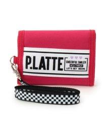 PINK-latte/チェックリボン付マジック財布/500658239