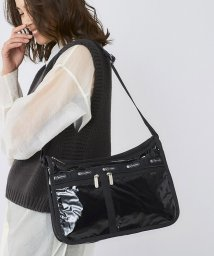 LeSportsac/DELUXE EVERYDAY BAG ブラックパテントシル/LS0019412