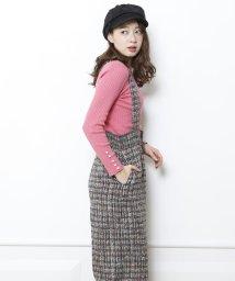 Mystrada/【TVドラマ着用】袖口パールクルーネックニット/10264220N