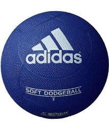 adidas/アディダス/キッズ/ソフトドッジボール 青色/500229641