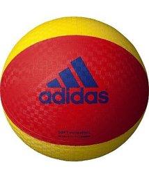adidas/アディダス/ソフトバレーボール 赤色×黄色/500233744