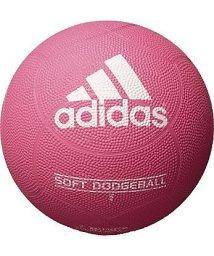 adidas/アディダス/キッズ/ソフトドッジボール ピンク色/500311593