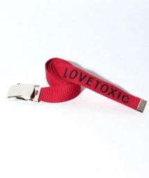 Lovetoxic/【ニコラ4月号掲載】ロゴ入りガチャベルト/500651950