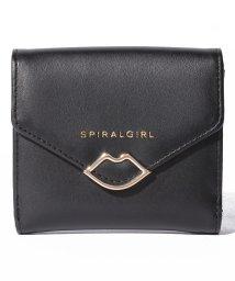 SPIRALGIRL/【SPIRALGIRLスパイラルガール】リップモチーフ2つ折りウォレット/500653594