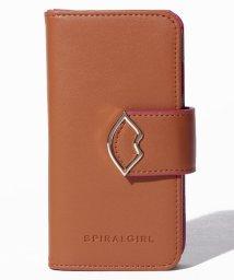 SPIRALGIRL/【SPIRALGIRLスパイラルガール】リップモチーフiPhone7専用カバー/500653595