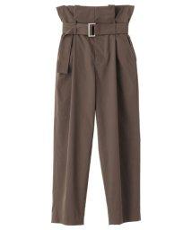 CLANE/WAIST BELT MILITARY PANTS/500653611