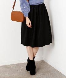 ROPE' mademoiselle/ソフトジョーゼットギャザースカート/500661499