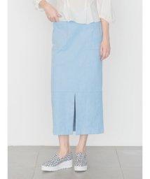 emmi atelier/【emmi atelier】エコスウェードIラインスカート/500665893