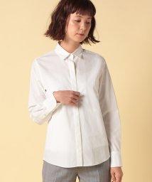 OLD ENGLAND/シルクコットンブロードシャツ/500655706