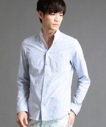 HIDEAWAYS NICOLE/小花柄ジャガードシャツ/500659292