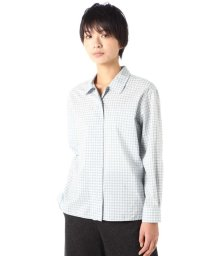 MARGARET HOWELL/TINY CHECK COTTON SILK/500666917