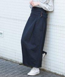 ViS/★【WEB限定】サイドバックルベルトロングスカート/500666984