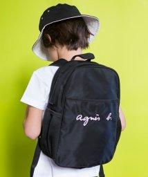 agnes b. ENFANT/GL11 E BAG ロゴ刺繍リュックサック/500658706