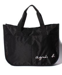 agnes b. ENFANT/GL11 E BAG ロゴ刺繍 レッスンバッグ/500658708