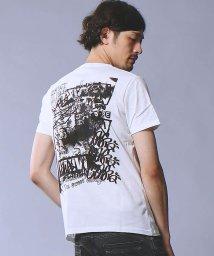 5351POURLESHOMMES/グラフィックバックプリントクルーネックTシャツ/500664313