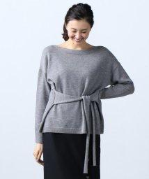 ICB(LARGE SIZE)/【梅春新作】Soft Wool Middle ウエストコンシャス ニット/500670083