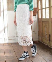 Rirandture/【美人百花 4月号掲載】リラレースロングタイトスカート/500650652